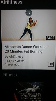 Workout #2!