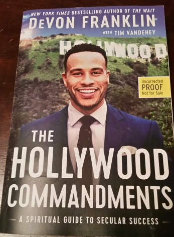 Spent part of my day engrossed in this new book by DeVon Franklin. Excited to be apart of his launch team! Motivating material!