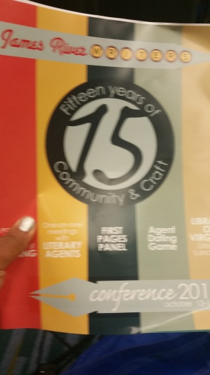James RIver Writers Conference celebrating 15 years!